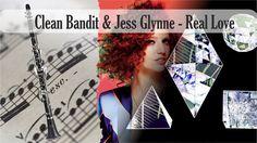 Partitura Clean Bandit & Jess Glynne - Real Love Clarinete Soprano