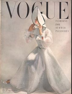 Fashion art magazine vintage vogue covers new Ideas Vogue Magazine Covers, Fashion Magazine Cover, Fashion Cover, 1940s Fashion, Vogue Fashion, Fashion Art, Vintage Fashion, Vintage Couture, Fashion Beauty