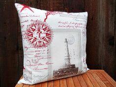 Kissen Maritim Leuchtturm von Patchwork auf DaWanda.com