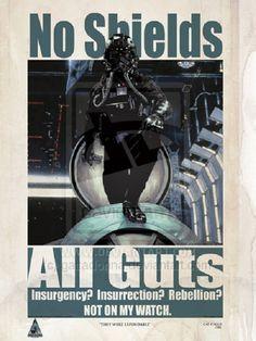 'Star Wars' Propaganda Posters #StarWars