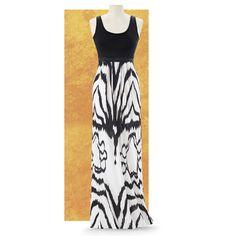 Ebony and Ivory Maxi Dress - Women's Clothing & Symbolic Jewelry – Sexy, Fantasy, Romantic Fashions