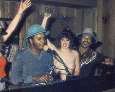 American DJ's and topless women from the early 80s