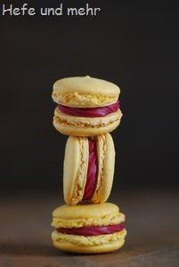 Zitronen-Himbeer-Macarons (1)