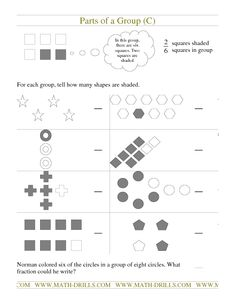 math worksheet : 1000 images about fractions on pinterest  fractions comparing  : Fractions Of A Group Worksheets