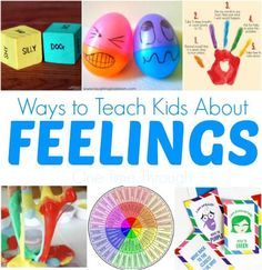TEACH YOUR CHILD TO READ - Find a great collection of parenting resources (books, games and activities) that you can read and do to teach kids about feelings! - Super Effective Program Teaches Children Of All Ages To Read. Teaching Emotions, Feelings Activities, Feelings And Emotions, Help Teaching, Preschool Activities, Expressing Emotions Activities, Feelings Games, Social Emotional Development, Social Emotional Learning