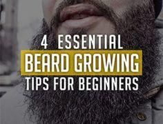 4 Essential Beard Growing Tips For Beginners Mustache Growth, Beard No Mustache, Moustache, Great Beards, Awesome Beards, Beard Growing Tips, Bald With Beard, Big Beard, Thick Beard