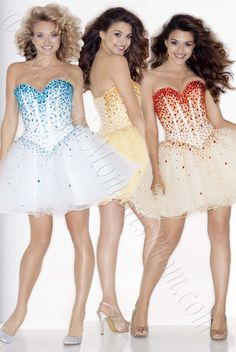 Cute and colorful!  Mori Lee Sticks and Stones short cocktail dress.  Order now for Free Domestic Shipping!  magicmomentsprom.com