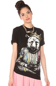 The Biggie Bear V3 Tee in Black by Rook use rep code: OLIVE for 20% off!