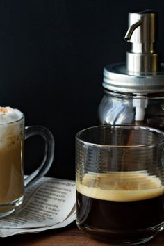 Homemade Vanilla Coffee Syrup Recipe Photo | My Baking Addiction