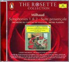 Milhaud: Symphonies 1 & 2 Darius Milhaud, Michel Plasson