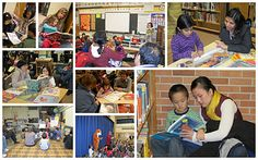 a to z library: Family Literacy Night