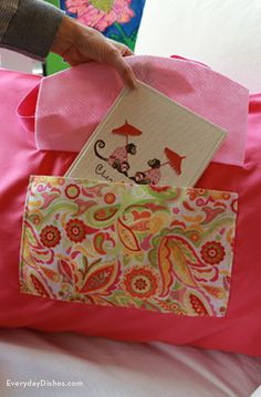 DIY Sleepover Pillowcase Bag Instructions & Large Personalized Tote Bag - Library Sleepover or any ... pillowsntoast.com