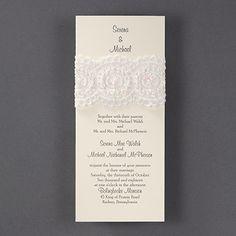 Cherished Lace Wedding Invitations http://bustlingbride.carlsoncraft.com/Wedding/Wedding-Invitations/3124-BSN4398-Cherished-Lace--Invitation.pro