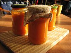 kruche babeczki: Dżemik z dyni i galaretki pomarańczowej