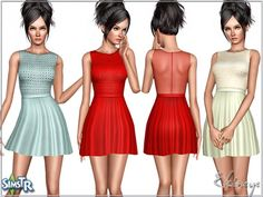 Embellished Dress by Ekinege - Sims 3 Downloads CC Caboodle