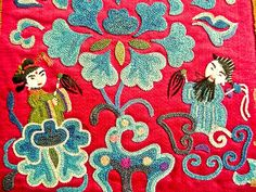 Fabulous Chinese embroidery
