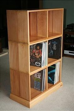Etonnant Records Storage Shelving   Google Search Vinyl Record Shelf, Record  Cabinet, Vinyl Records,