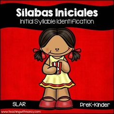 Spanish: Sílabas Iniciales Palomitas de Maíz from Teaching With Nancy  on TeachersNotebook.com -  (15 pages)  - This resource includes 3 stations to give your students practice identifying the initial syllable in pictures or finding a picture that begins with a given syllable. Each station includes 12 task card