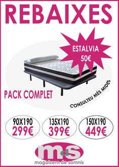 #colchones #complementos #rebajasverano2014 ·magatzemdesomnis #almacendesuenos