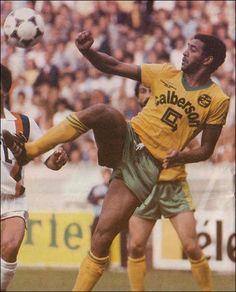 Psg, Fc Nantes, Paris Saint Germain, Football Soccer, Club, Retro, Baseball Cards, Forever, Black Square