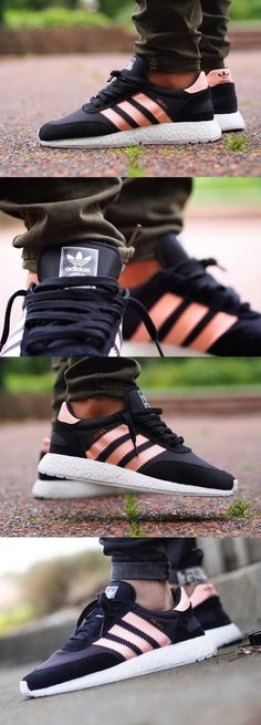 #adidas #Iniki #Runner W #Black #Haze #Coral…