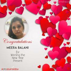 Meera Balani the 5th Winner