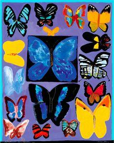 Ken Done - shop / limited prints / butterflies-from-brazil-2003