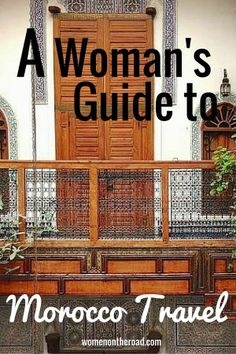 This was informative. If youre a woman traveling independently, the idea of Morocco travel might be scary – but it might also be wrong. Get a woman traveler's take here.