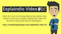 https://www.youtube.com/watch?v=9x9ZAkywfLc Explaindio Video FX Review