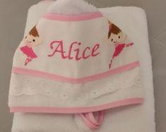 Hooded Bath Towels, Diapers, Dots, Dressmaking