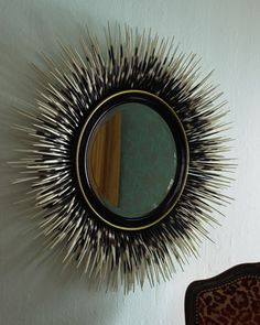 "LOVE to have this... ""Porcupine Quill"" Mirror - Neiman Marcus"