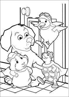 Wonder Pets Coloring Pages 19