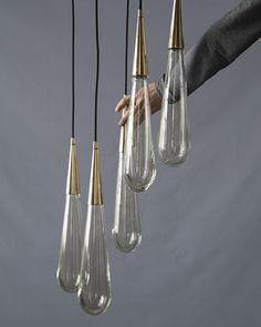 Handle Studio   ART DECO 19 Brass, 1500x400x100 mm, lamp G4