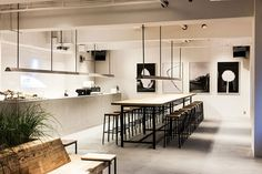 riding high on a wave of popularity this side of the pacific, saturdays surf nyc opens a fourth japanese store and introduces a hybrid retail concept. Retail Interior, Cafe Interior, Interior Design, Commercial Design, Commercial Interiors, Cafe Restaurant, Restaurant Design, Sendai, R Cafe