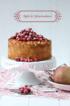 Lisbeths Cupcakes Currants meets apple pie