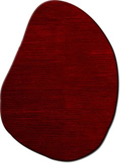 modernrugs.com odd shaped red modern rug