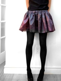 ShadowPlayNYC SALE Voyager 1 Space Skirt on Etsy, $60.00