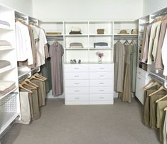 Simple Design Master Closet Ideas comes with Single Hanging Bars and Double Hanging Bars