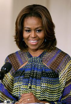 Michelle Obama is embracing the bold brow trend. Are you?