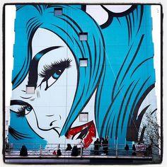 DFace @ Paris... Work in progress Ça avance ça avance... . Photo : Lionel Belluteau Plus de photos sur https://ift.tt/YMhG58  @dface_official @galerie_itinerrance #streetart13 #dface #d_face #paris #graffiti #parisgraffiti #urbanart #wallpainting #urbanartparis #itinerrance #galleryitinerrance @mairie13paris #lionelbelluteau @unoeilquitraine