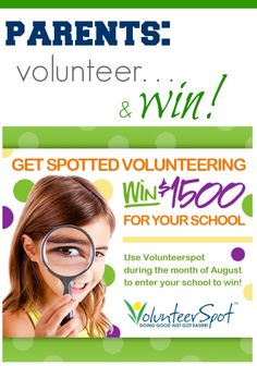 parents AND teachers can win BIG for back-to-school with @VolunteerSpot #weteach #sponsored
