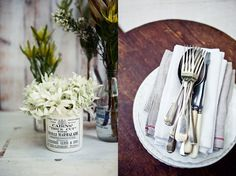 rustic party look. it's summer down under, damn them! Avocado Mac And Cheese, What Katie Ate, Brunch Places, Unusual Flowers, Australia Day, Cutlery Set, Flatware, Sweetheart Table, Table Arrangements