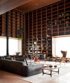 Penthouse by studio MK27 in Sao Paulo