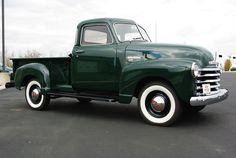 1950 Chevy 5 window truck. Yes pleas!