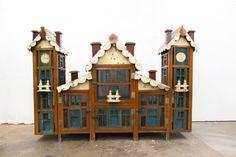 Increíble mano francés arte popular Chateau Coop