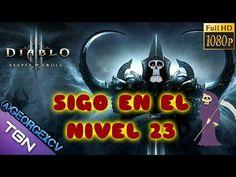 Diablo 3 Reaper of Souls Gameplay, hola pichones hoy continuamos en el nivel 23 pero nos vamos a matar un boss, pasar a verlo, os gustará
