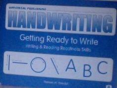 Handwriting Getting Ready to Write Writing & Reading Readiness Skills by Thomas M. Wasylyk, http://www.amazon.com/dp/1931181004/ref=cm_sw_r_pi_dp_WpuZqb15N5D1V