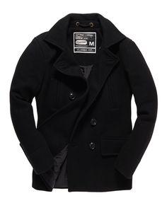 Superdry Caban Commodity Superdry, Arsenal, Coats, Jackets, Fashion, Knights, Pea Coat, Man Jacket, Accessories