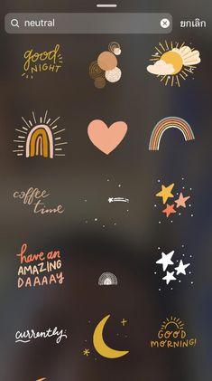 Instagram Emoji, Iphone Instagram, Instagram And Snapchat, Insta Instagram, Instagram Story Ideas, Instagram Quotes, Instagram Editing Apps, Creative Instagram Photo Ideas, Snapchat Stickers