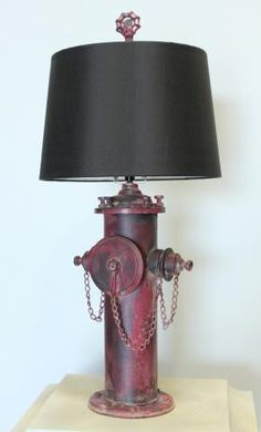 Edison Fire Hydrant Table Lamp